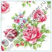 Приобрести оптом Салфетки 20 л., 2-х слойные, Bouquet Original «Английская роза»