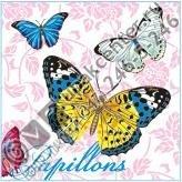 Приобрести оптом Салфетки 20 л., 2-х слойные, Bouquet Original «Бабочки»