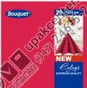 Приобрести оптом Салфетки 20 л., 2-х слойные, Bouquet Color в ассортименте